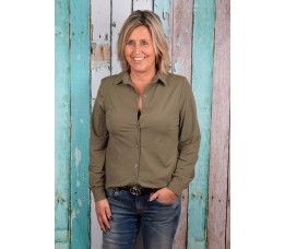 TRAVEL BLOUSE groen