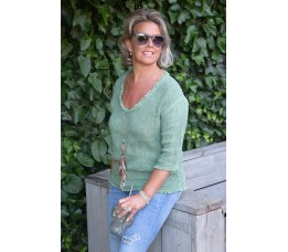 BLOUSE DAY groen