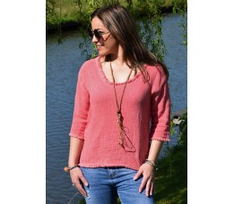 BLOUSE DAY rood